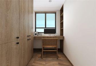5-10万100平米三室两厅日式风格书房设计图