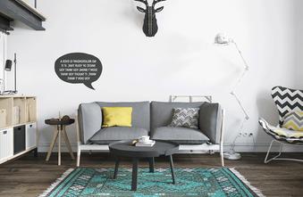 经济型40平米小户型美式风格客厅装修效果图