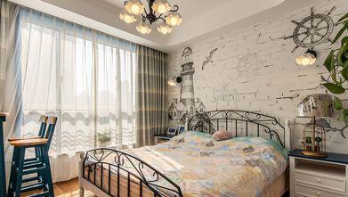 130平米四室两厅地中海风格卧室欣赏图