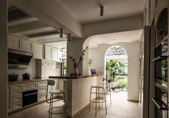 120平米三室两厅田园风格厨房装修效果图