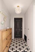 豪华型130平米三室两厅法式风格玄关装修图片大全