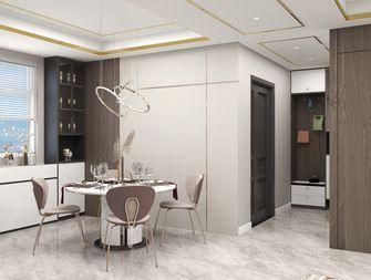 10-15万140平米四室一厅轻奢风格餐厅图片大全