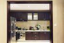 富裕型120平米三室一厅东南亚风格厨房图片大全