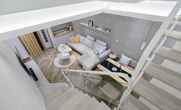 豪华型140平米三室三厅北欧风格楼梯间欣赏图