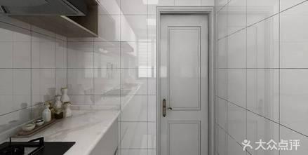 5-10万100平米三轻奢风格厨房设计图