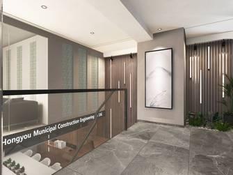 140平米公装风格走廊设计图