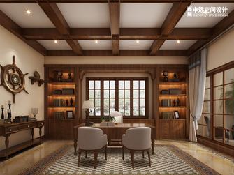 20万以上140平米别墅地中海风格书房欣赏图