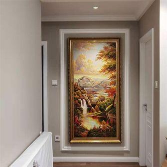 富裕型130平米三室两厅美式风格走廊装修案例