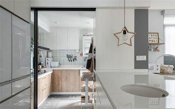 5-10万90平米三室两厅田园风格厨房装修效果图
