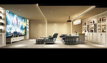140平米别墅现代简约风格影音室图