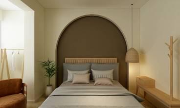 70平米复式日式风格卧室效果图