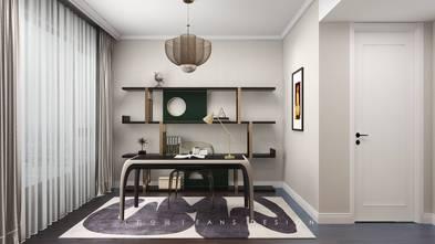 3万以下140平米三室一厅轻奢风格书房图