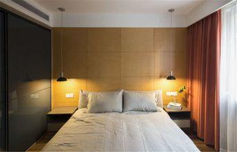 富裕型三室一厅现代简约风格卧室图片