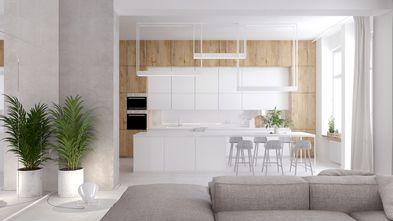 豪华型130平米三室两厅现代简约风格餐厅装修效果图