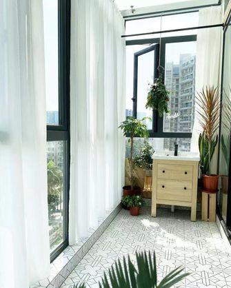 富裕型100平米三现代简约风格阳台设计图