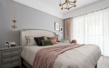 经济型140平米三室一厅轻奢风格卧室效果图