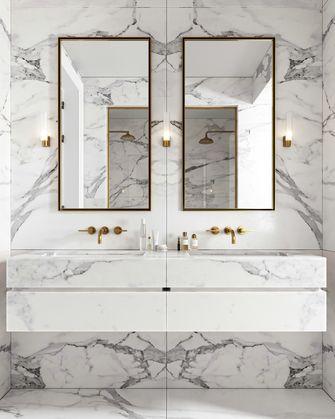 豪华型140平米三室一厅日式风格卫生间装修效果图
