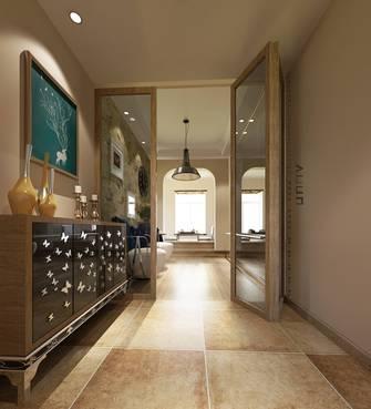 20万以上110平米四室两厅混搭风格玄关装修案例