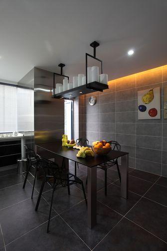 豪华型120平米三室一厅北欧风格餐厅图片
