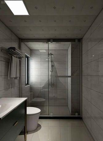 富裕型100平米三室两厅现代简约风格卫生间图片大全