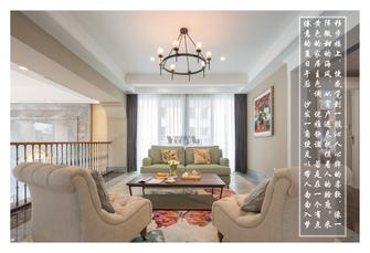 20万以上140平米别墅美式风格走廊图