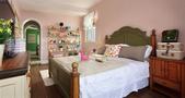 经济型100平米田园风格卧室装修效果图