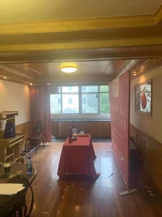 富裕型80平米三室一厅日式风格客厅欣赏图