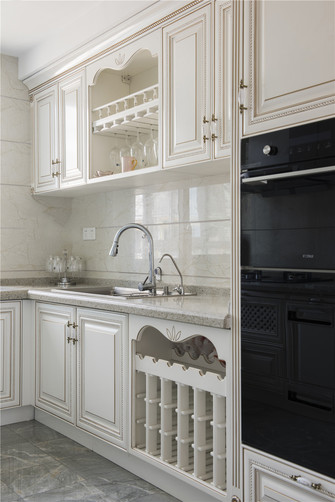 豪华型140平米别墅法式风格厨房图片大全
