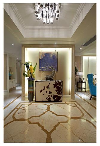 富裕型110平米三室两厅欧式风格玄关欣赏图