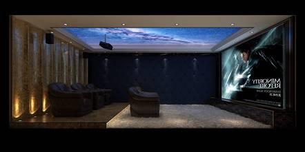 豪华型140平米欧式风格影音室图片大全
