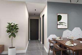 100平米三室三厅现代简约风格走廊效果图