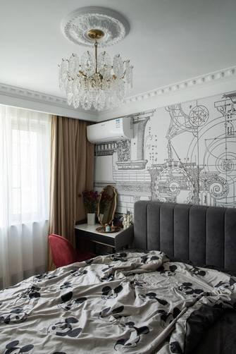 80平米三法式风格卧室装修图片大全