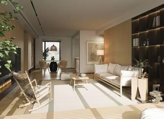 20万以上130平米三室两厅日式风格餐厅图