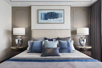 豪华型110平米三室一厅中式风格卧室装修案例
