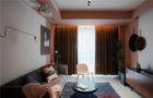 5-10万60平米公寓英伦风格客厅图