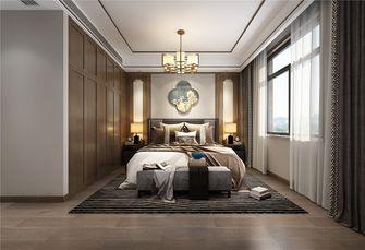 富裕型140平米别墅中式风格卧室图片