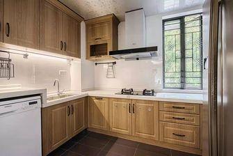 经济型130平米四室一厅美式风格厨房图