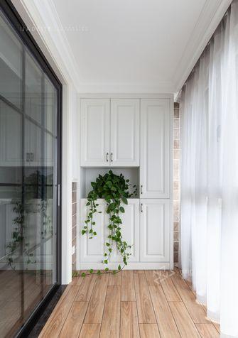 120平米三室两厅美式风格阳台装修图片大全