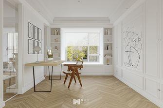 10-15万140平米三法式风格书房装修案例