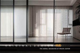 富裕型140平米三室一厅现代简约风格阳台装修图片大全