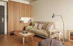60平米一居室日式风格客厅图片大全