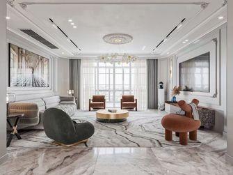 140平米法式风格客厅设计图