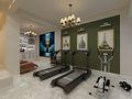 140平米四室两厅美式风格健身房设计图