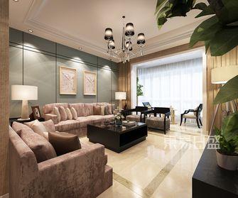 120平米四新古典风格客厅装修图片大全