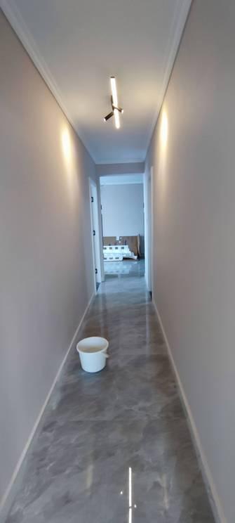 90平米现代简约风格走廊效果图