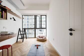 豪华型140平米四室两厅现代简约风格书房图片大全