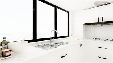 富裕型110平米欧式风格厨房装修效果图