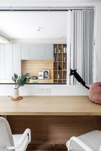 富裕型110平米现代简约风格书房效果图