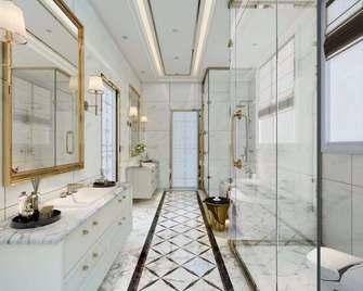 100平米三室一厅法式风格卫生间欣赏图
