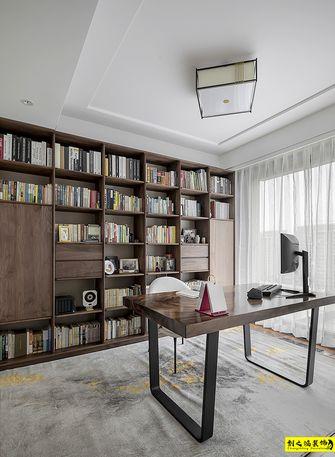 10-15万120平米三室两厅混搭风格书房图片